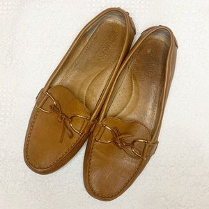• Lauren Ralph Lauren Briley Leather Loafers •